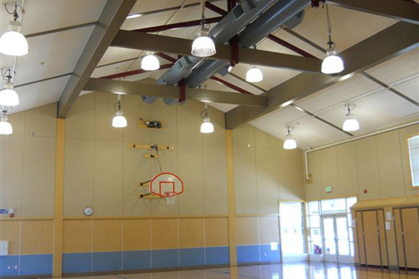 Santa Rosa electrical contracting work performed for Bellevue Union School District.
